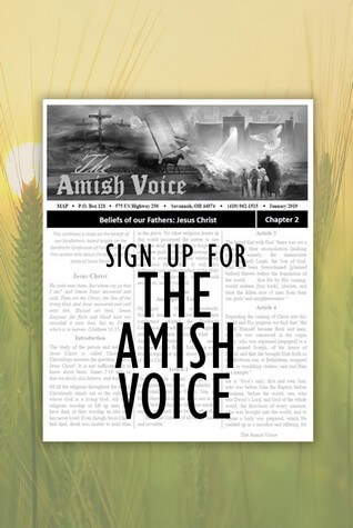 Sign up for the Amish Voice