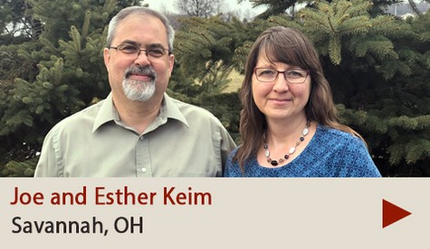 Joe and Esther Keim
