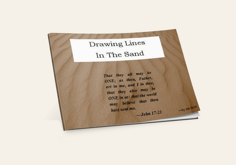 Drawing Lines in the Sand (By: Joe Keim)
