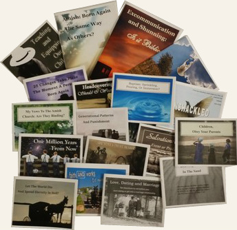 Sample Pack (Gospel Tracts & Booklets)